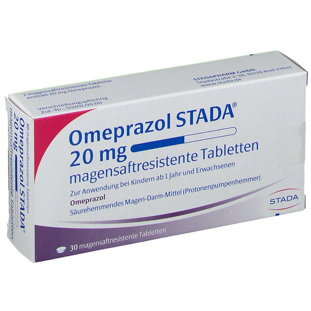 Omeprazol STADA® 20 mg