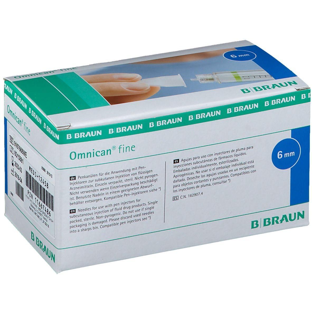 OMNICAN FINE PEN KA 0.25X6