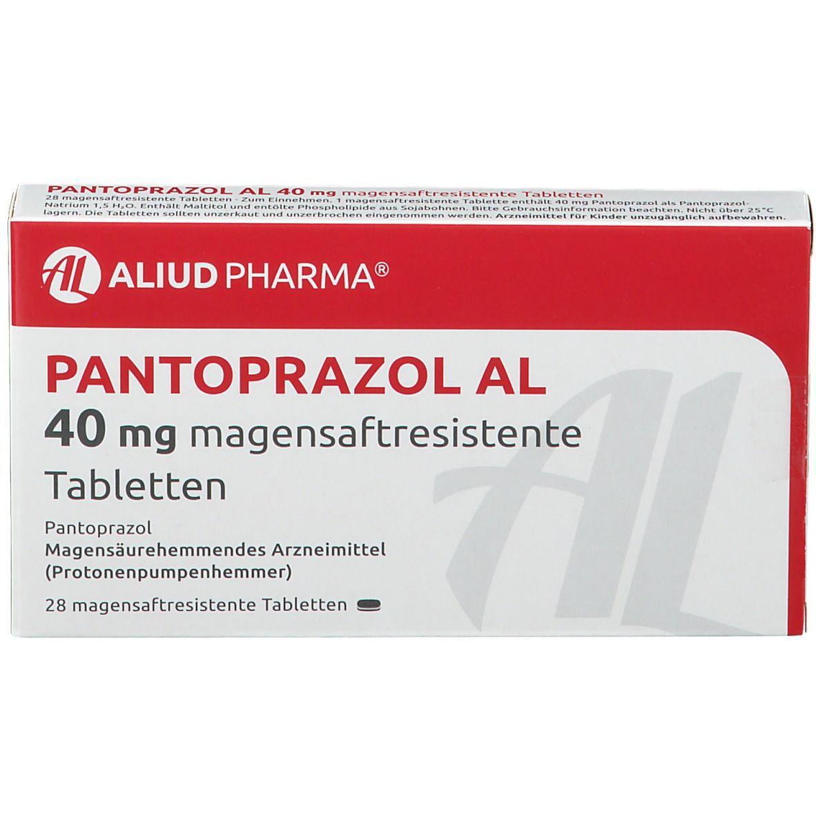 PANTOPRAZOL AL 40 mg
