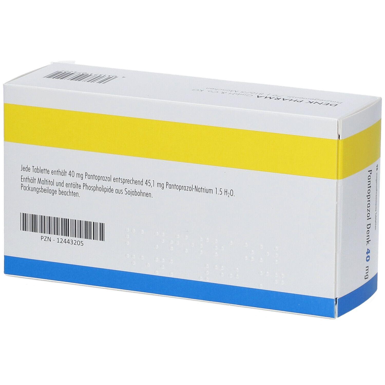 PANTOPRAZOL Denk 40 mg magensaftres.Tabletten