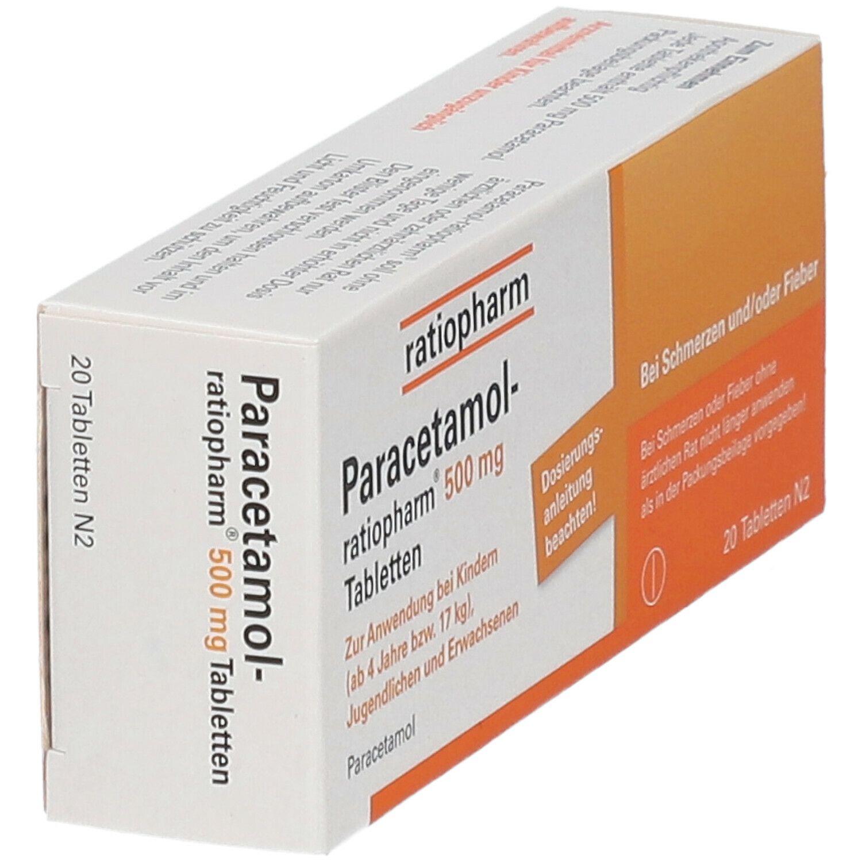 Paracetamol-ratiopharm® 500 mg