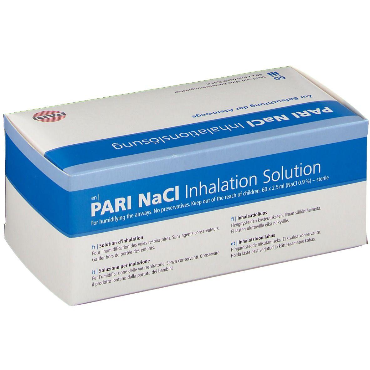 PARI NaCI Inhalationslösung