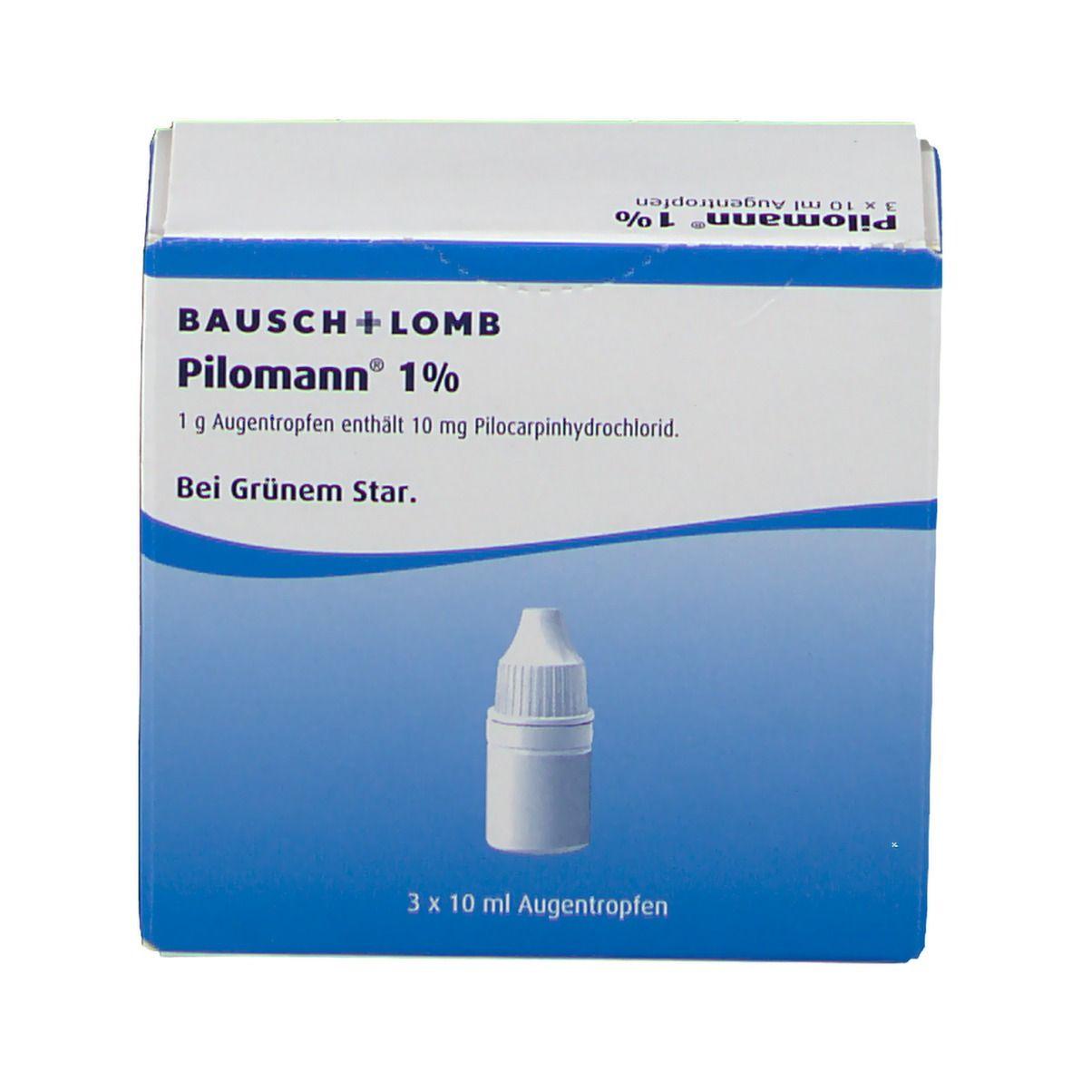 Pilomann 1% Augentropfen