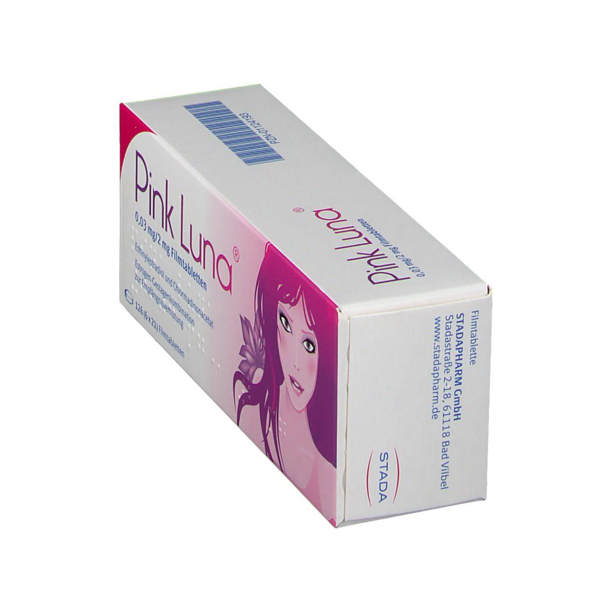 PINK LUNA® 0,03 mg/2 mg