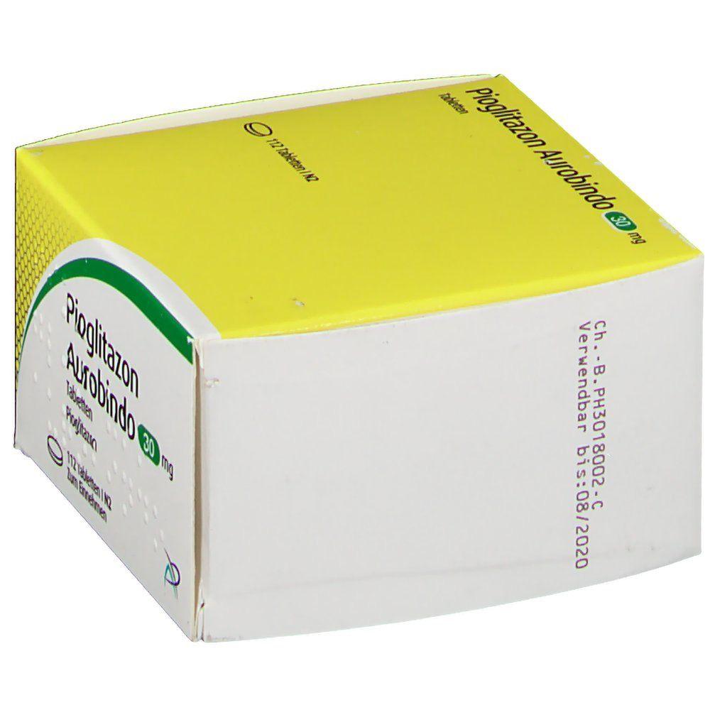 PIOGLITAZON Aurobindo 30 mg Tabletten