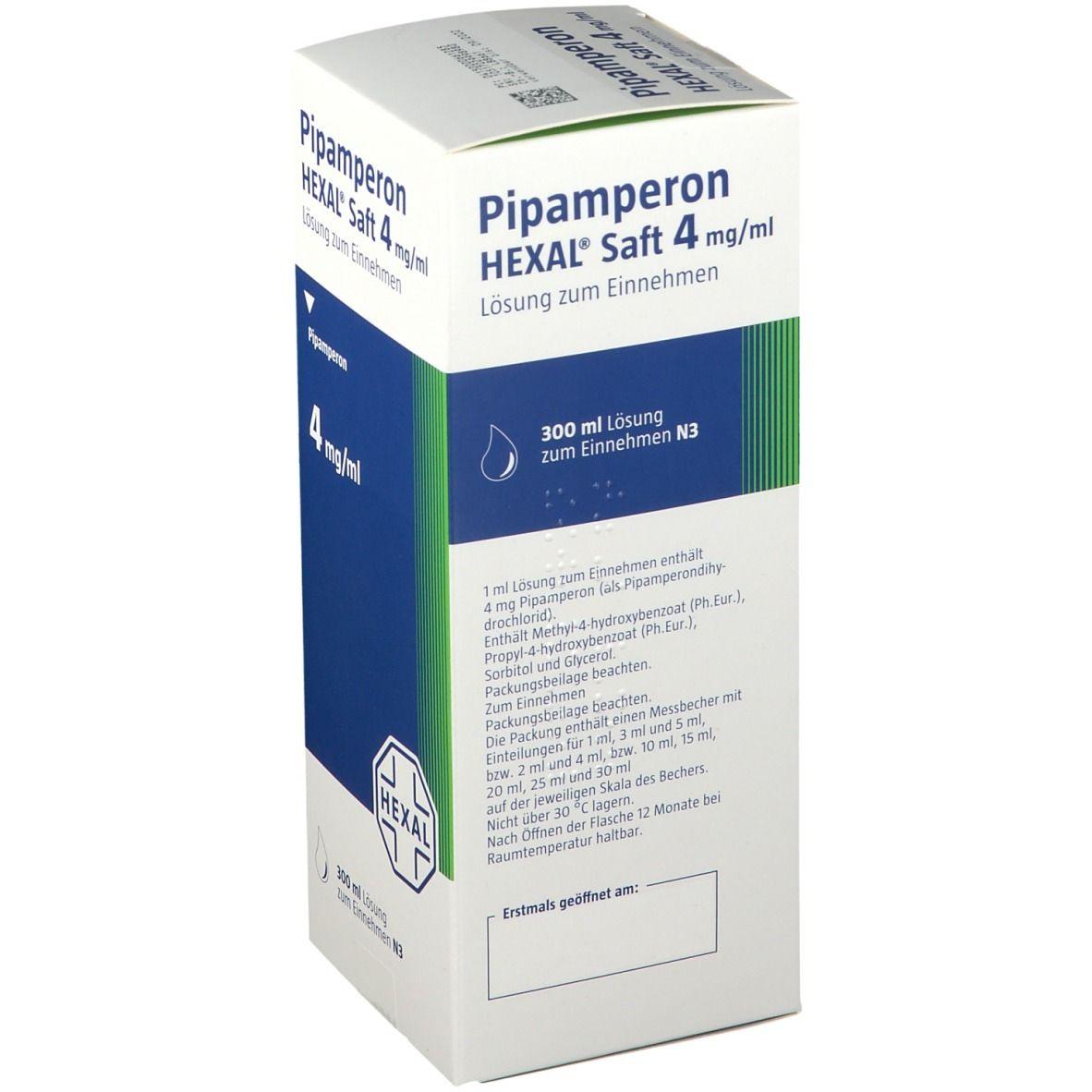 Pipamperon HEXAL® Saft 4 mg/ml Lösung zum Einnehmen