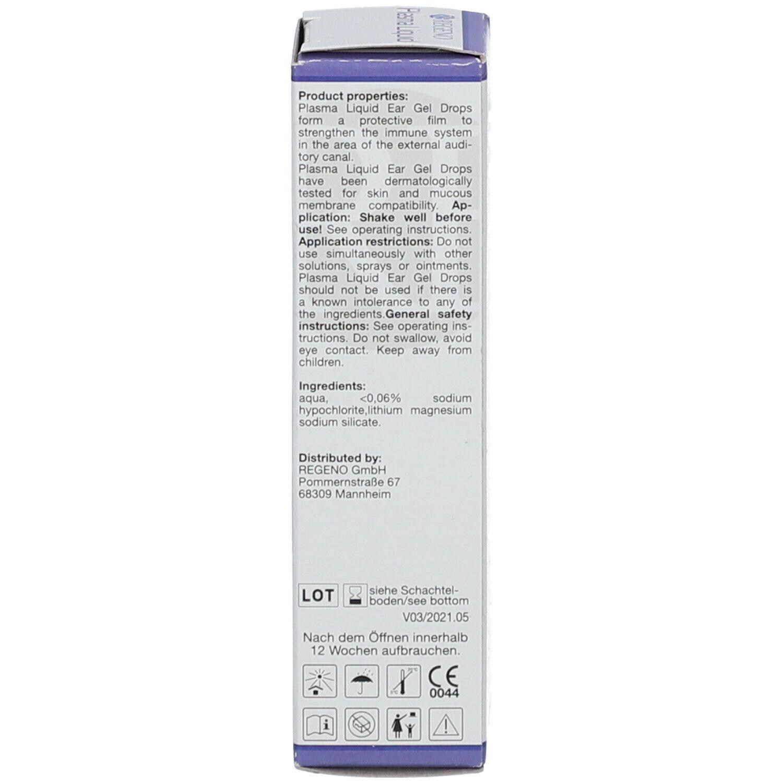 Plasma Liquid Ohrentropfen-Gel