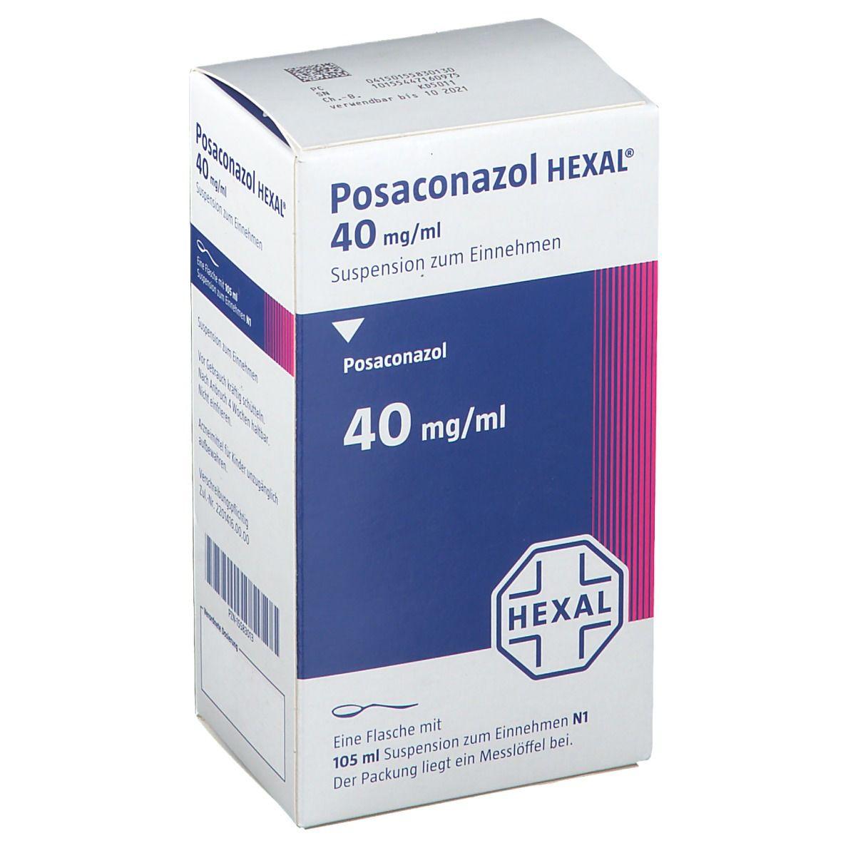 Posaconazol HEXAL® 40 mg/ml Suspension zum Einnehmen
