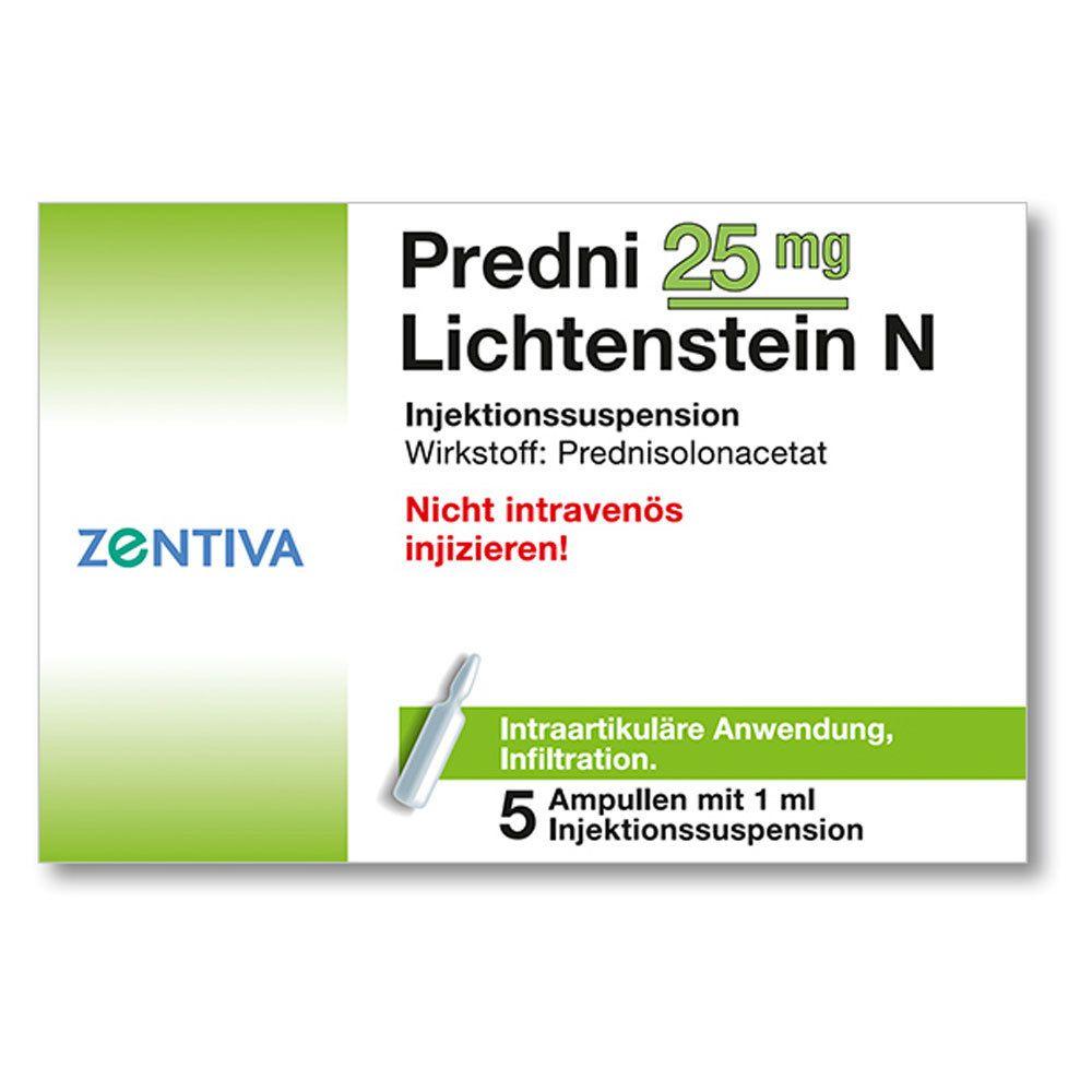 Predni 25 mg Lichtenst.N Kristallsusp. Amp.