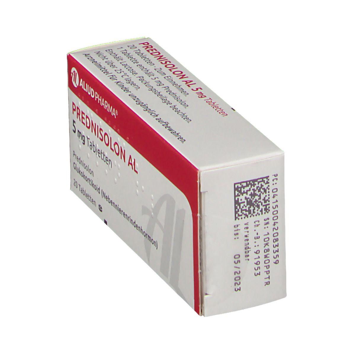 PREDNISOLON AL 5 mg