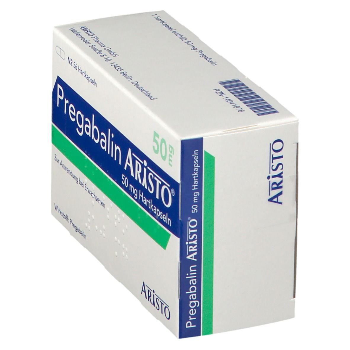 PREGABALIN Aristo 50 mg Hartkapseln