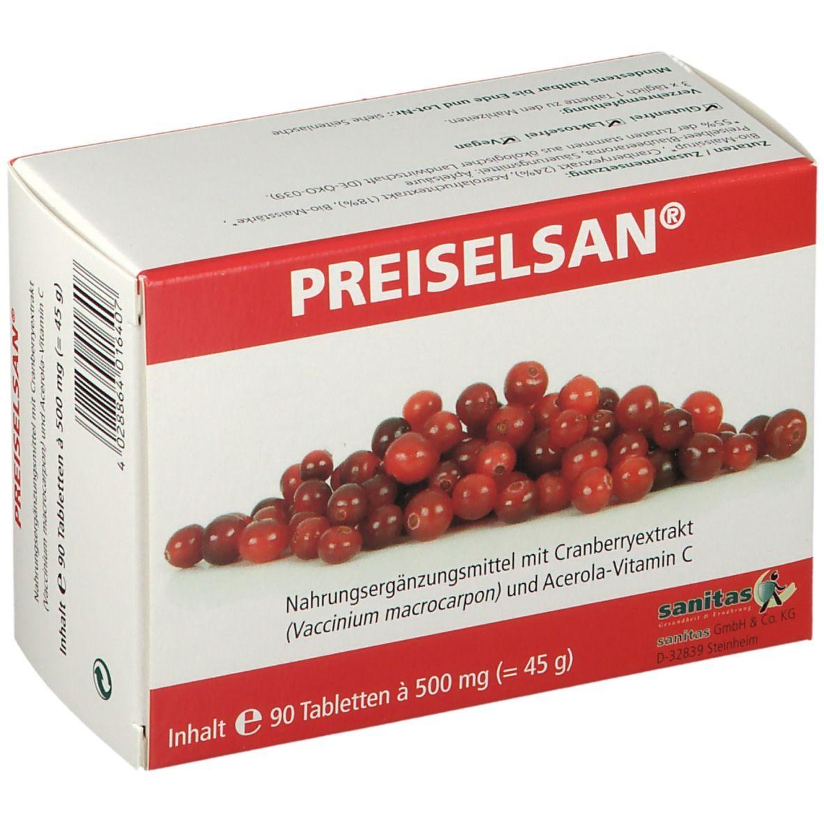PREISELSAN® Tabletten