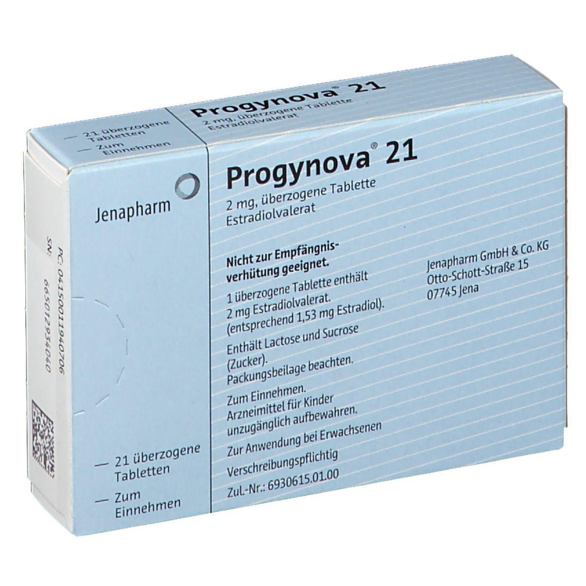 Progynova 21 Dragees