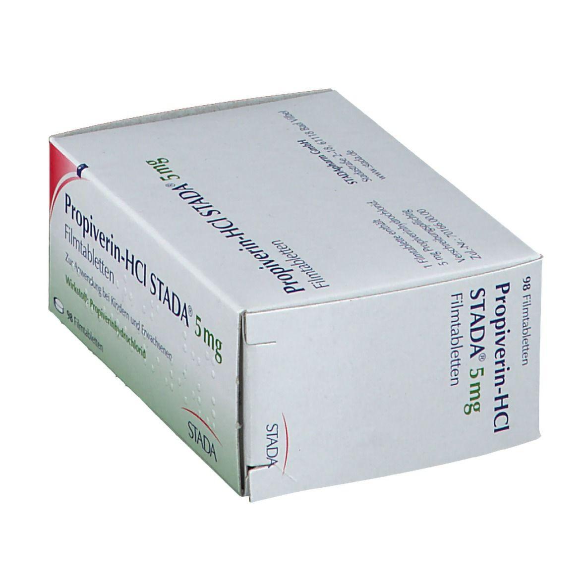 PROPIVERIN HCl STADA 5 mg Filmtabletten
