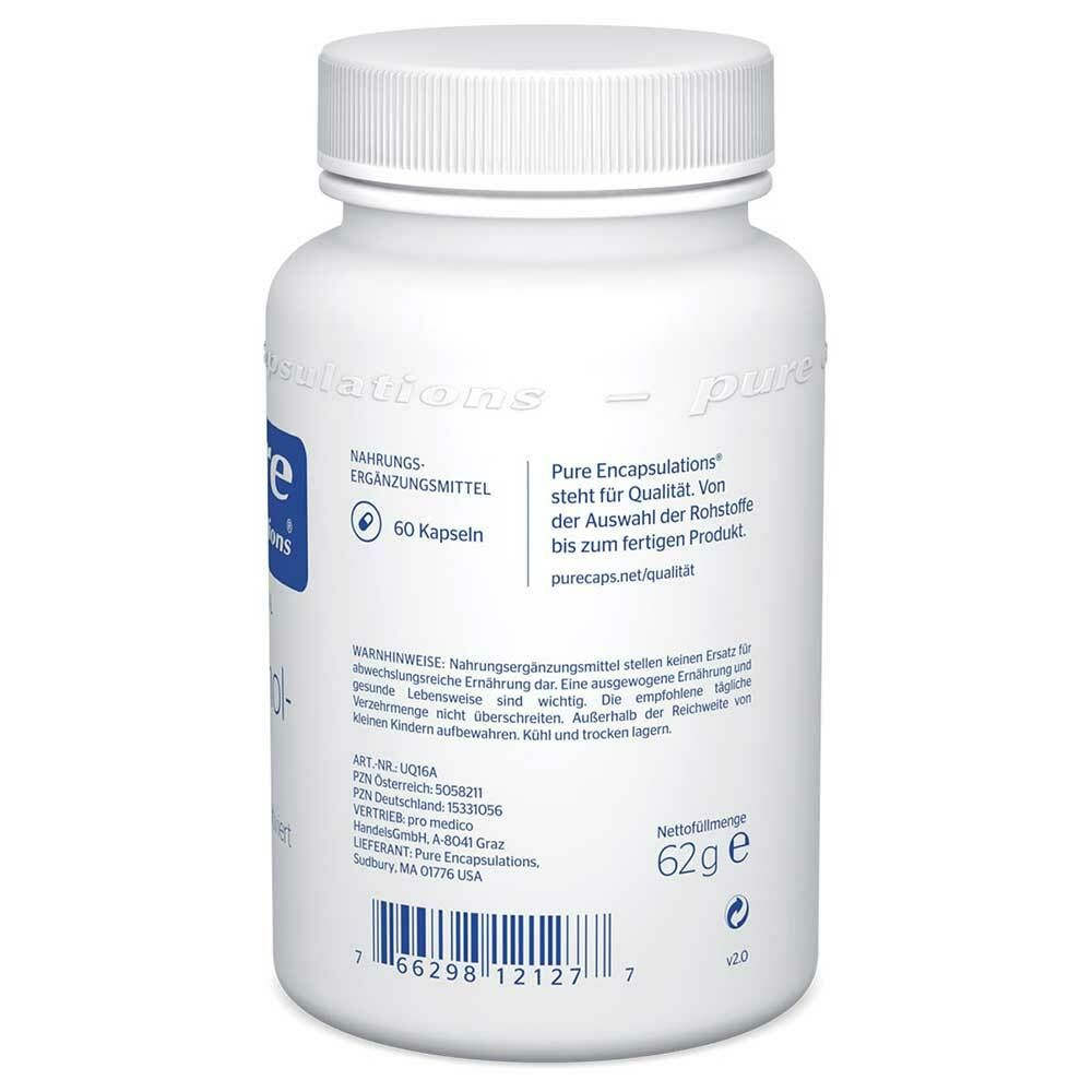 Pure Encapsulations® Ubiquinol-QH 100mg