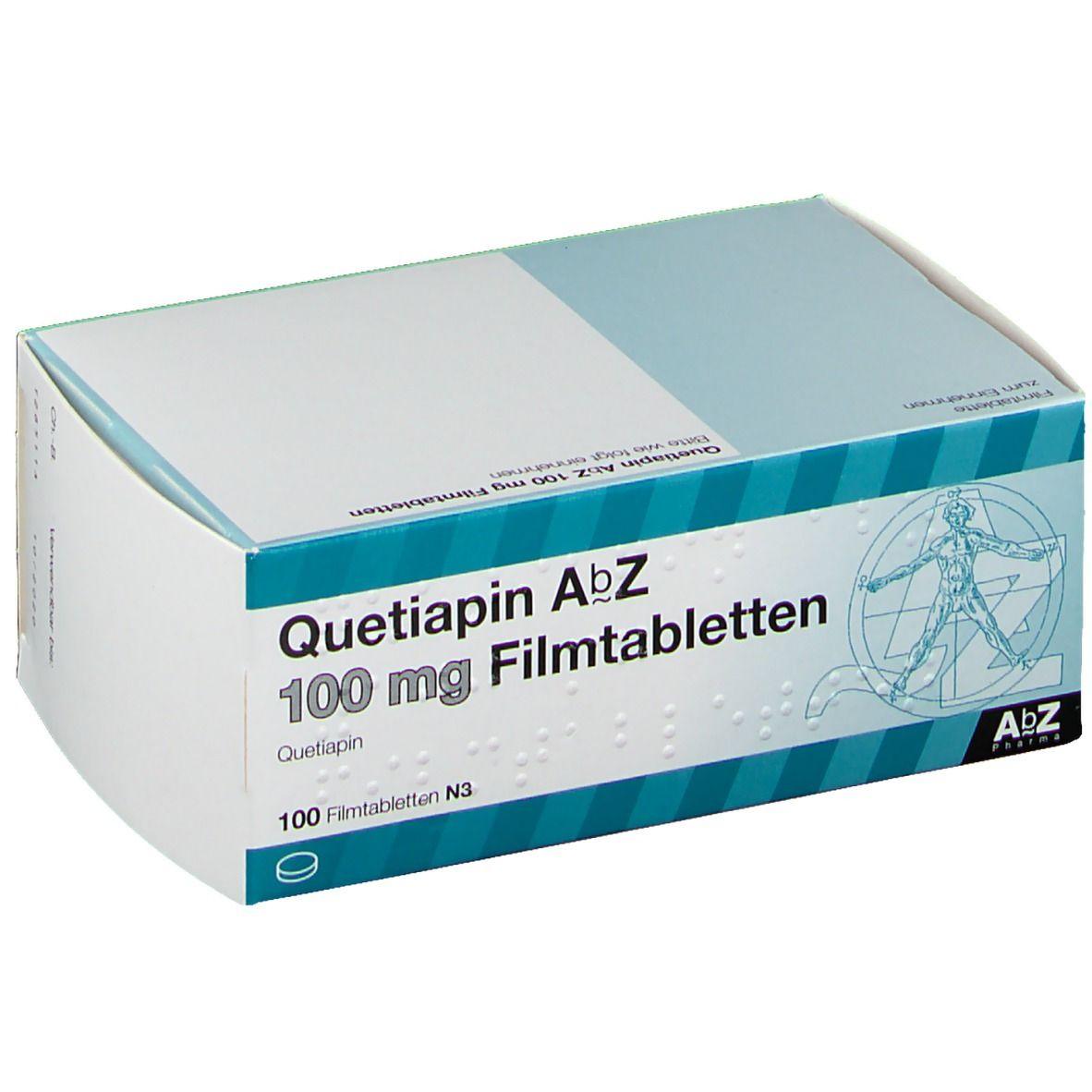 QUETIAPIN AbZ 100 mg Filmtabletten