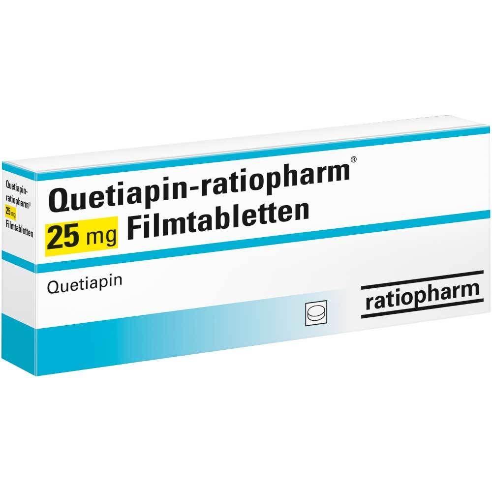 QUETIAPIN ratiopharm® 25 mg Filmtabletten