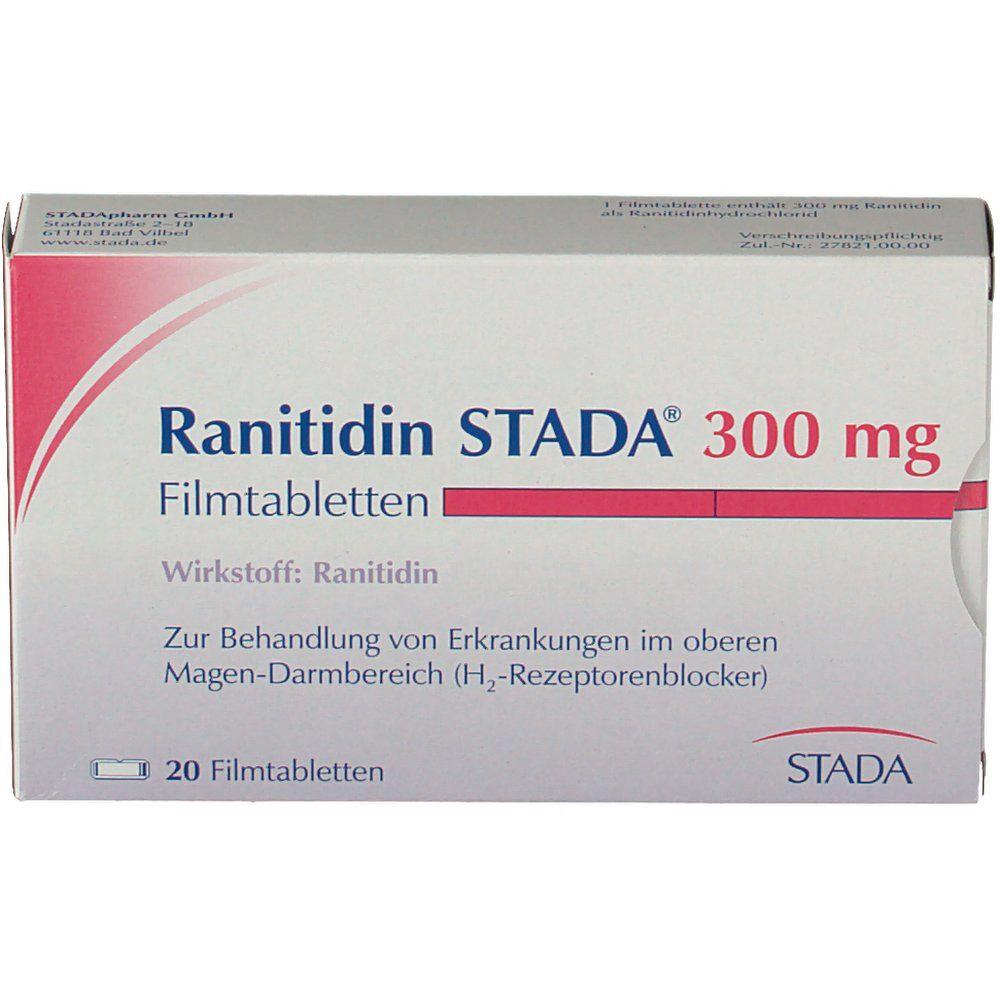 Ranitidin STADA® 300 mg Filmtabletten