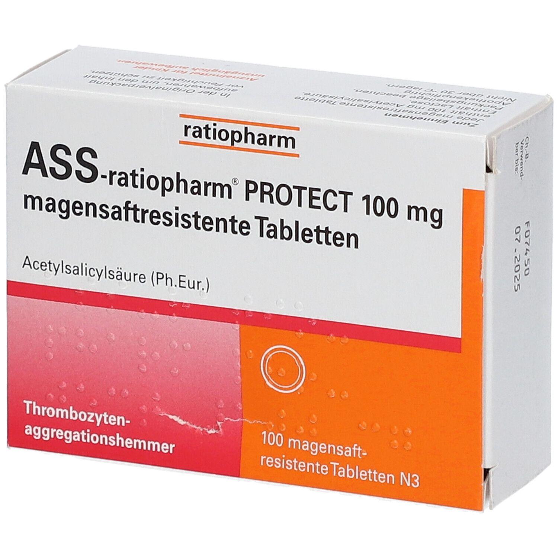 ratiopharm® ASS-ratiopharm® PROTECT 100 mg