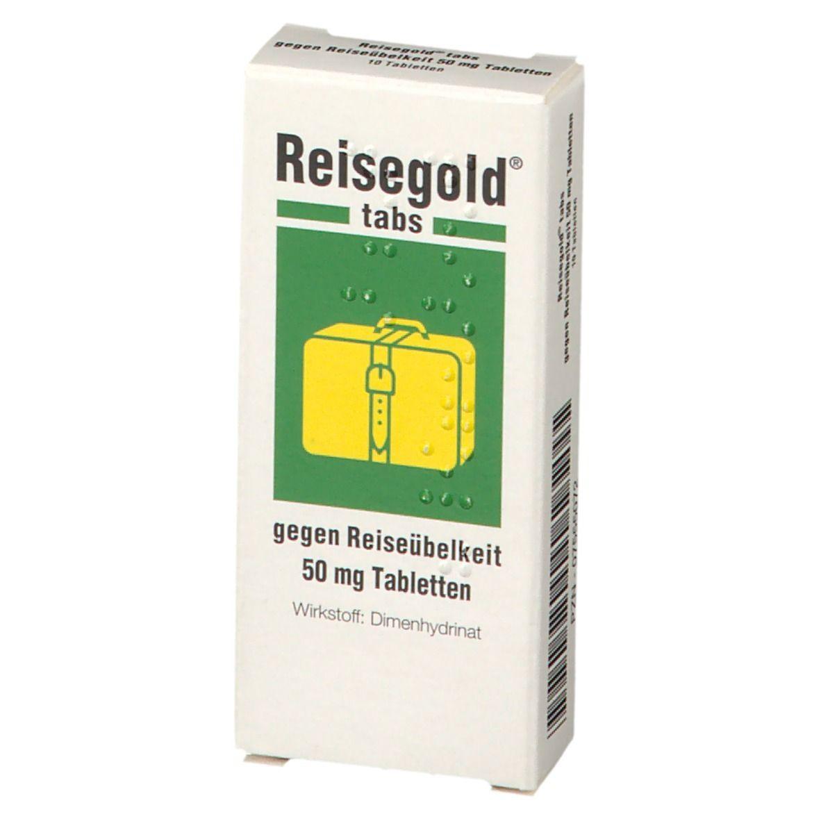 Reisegold® Tabs