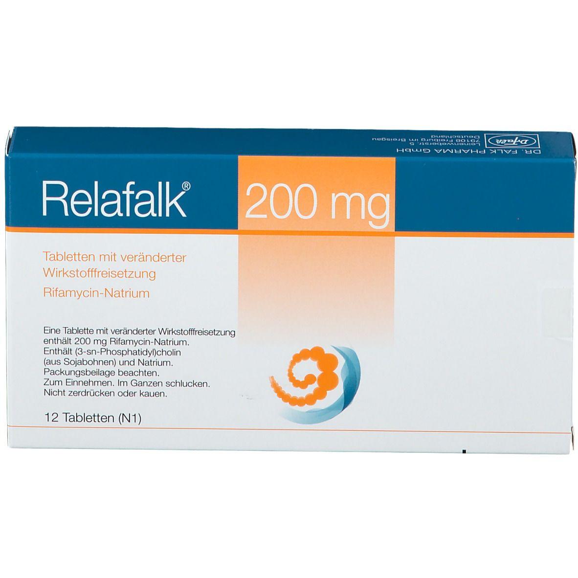 RELAFALK 200 mg Tabl.m.verändert.Wirkstofffreis.