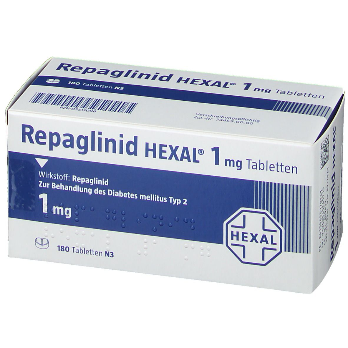 Repaglinid HEXAL® 1 mg Tabletten