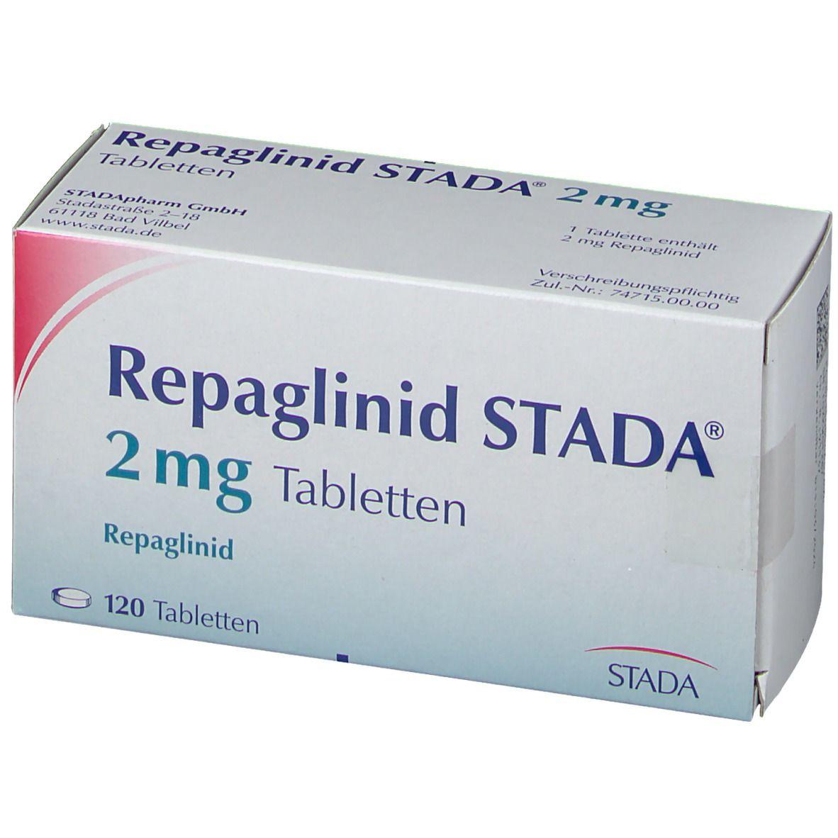 Repaglinid Stada® 2 mg Tabletten