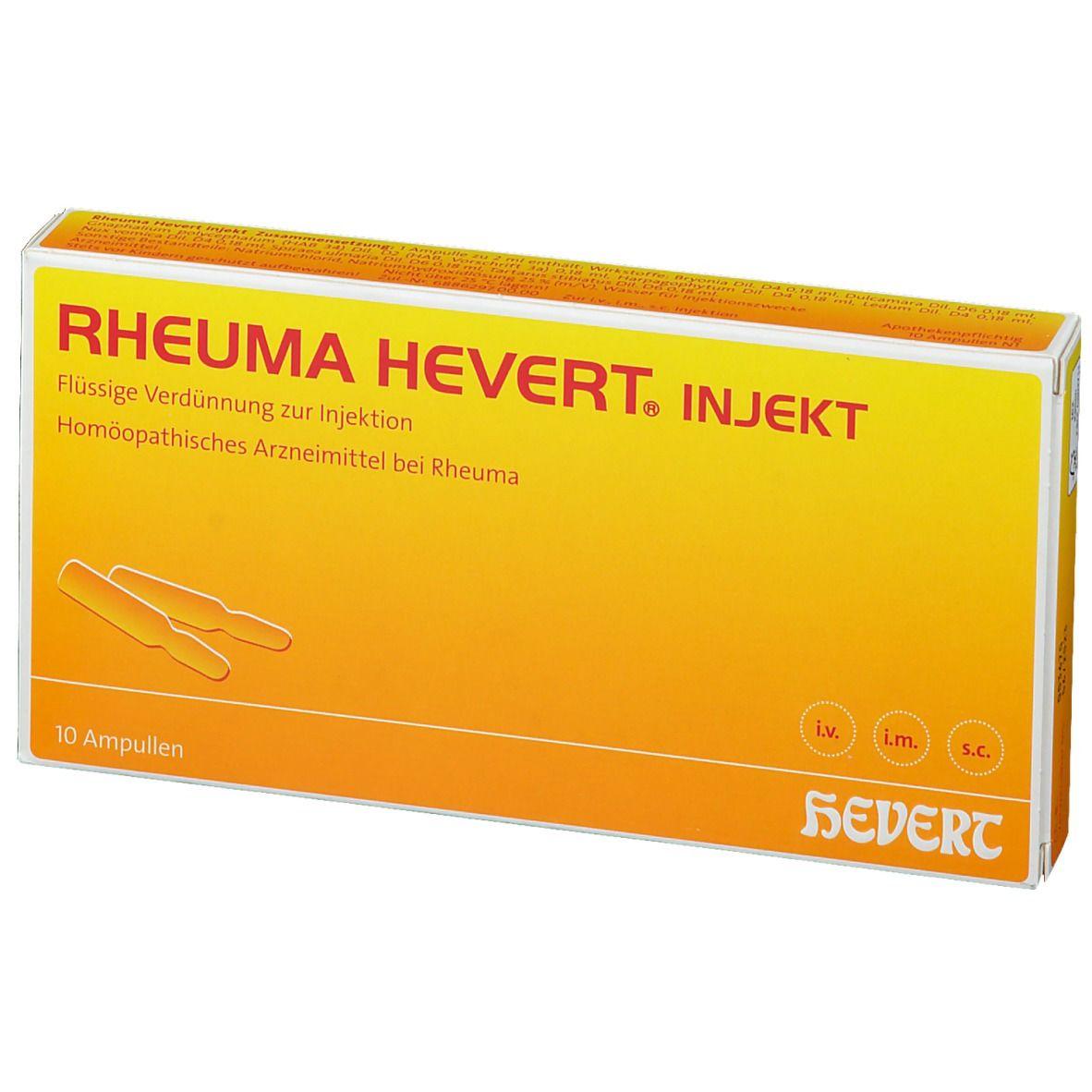 RHEUMA-HEVERT® INJEKT Ampullen