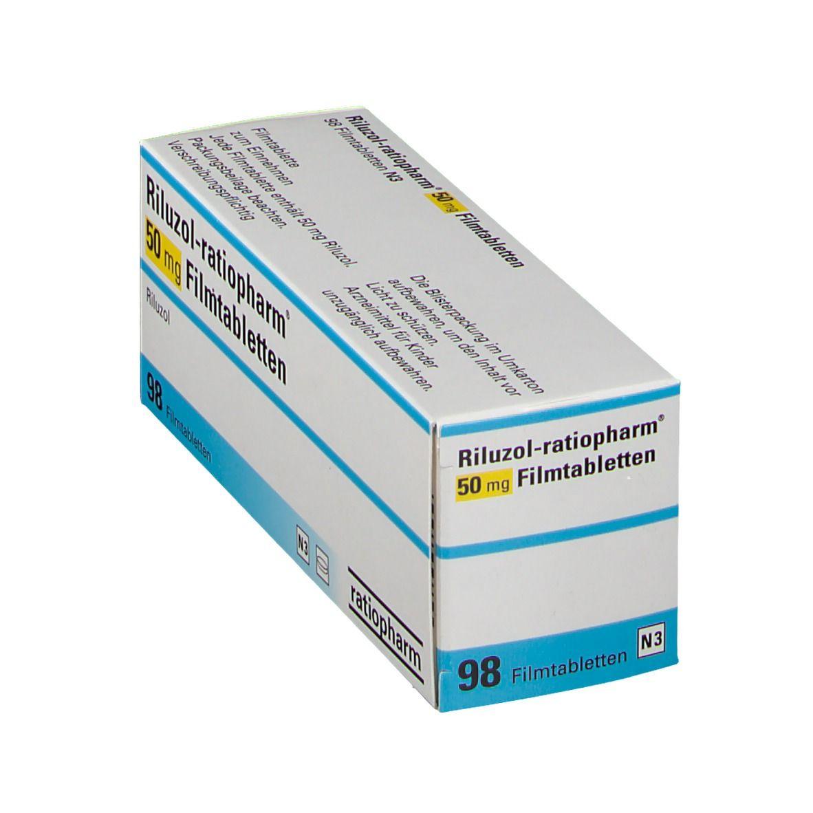 RILUZOL ratiopharm® 50 mg Filmtabletten