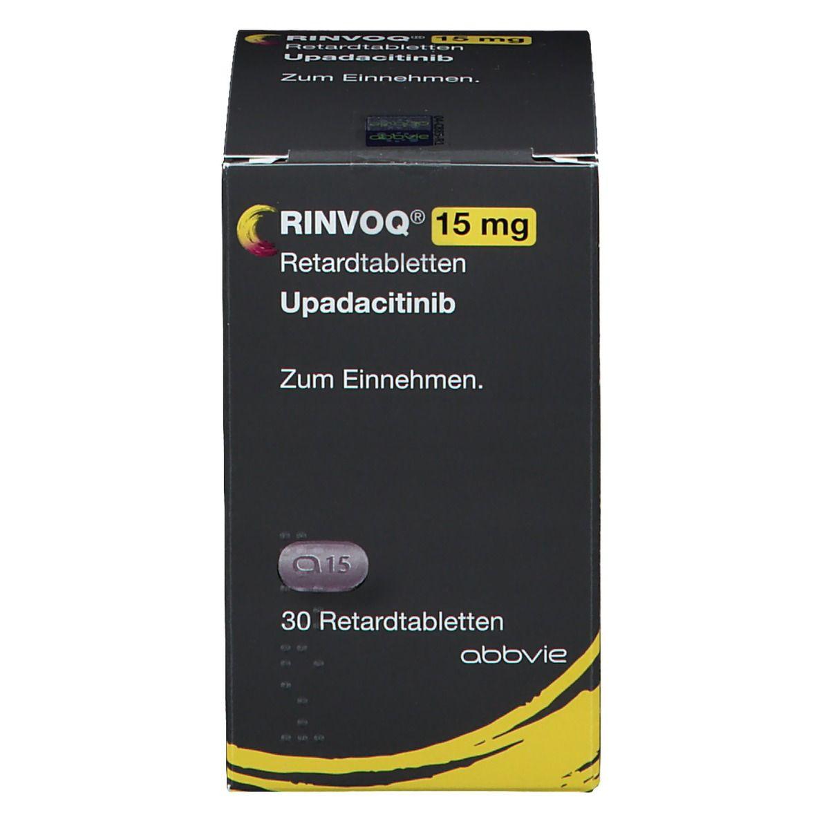 RINVOQ 15 mg Retardtabletten