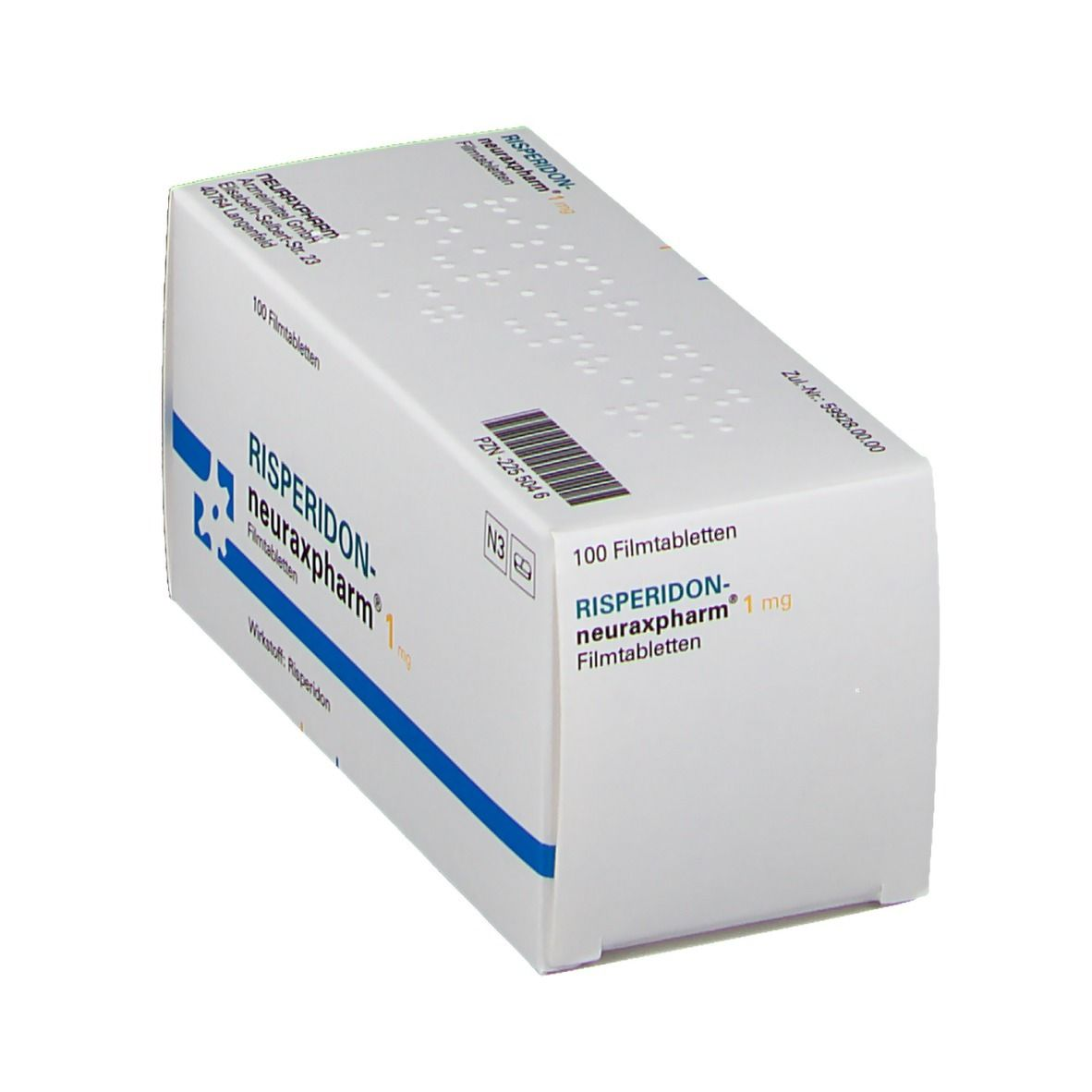 RISPERIDON neuraxpharm 1 mg Filmtabletten