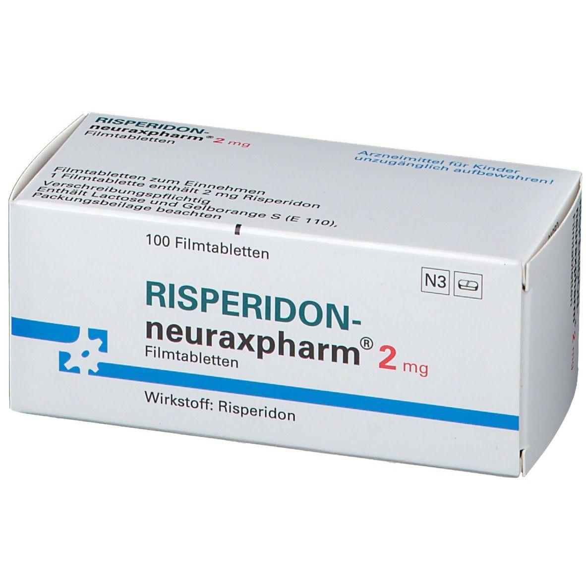 RISPERIDON neuraxpharm 2 mg Filmtabletten