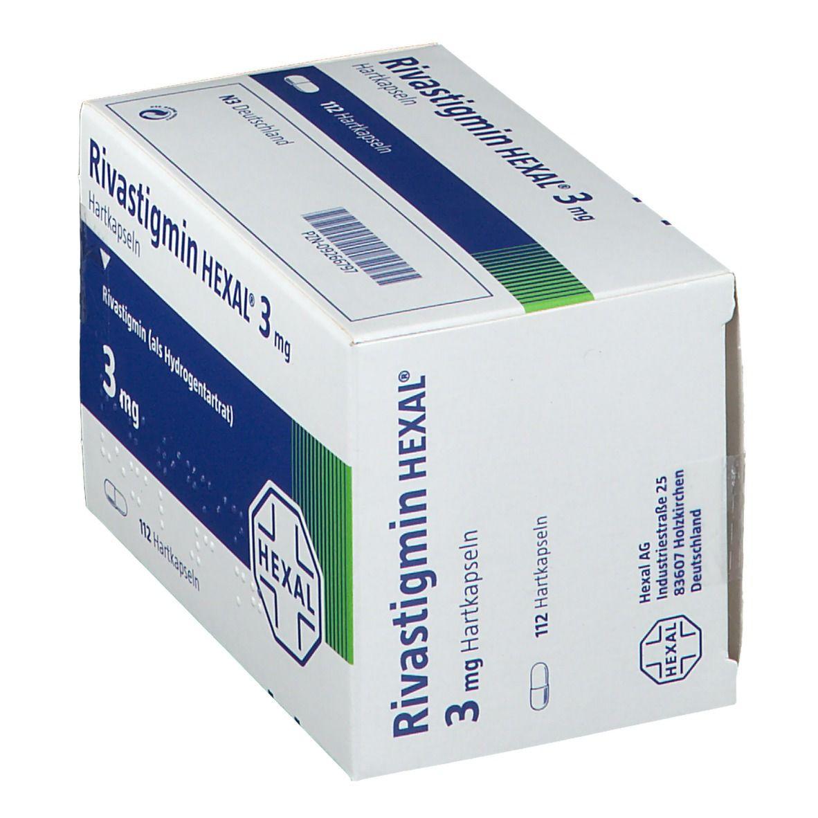 Rivastigmin HEXAL® 3 mg Hartkapseln