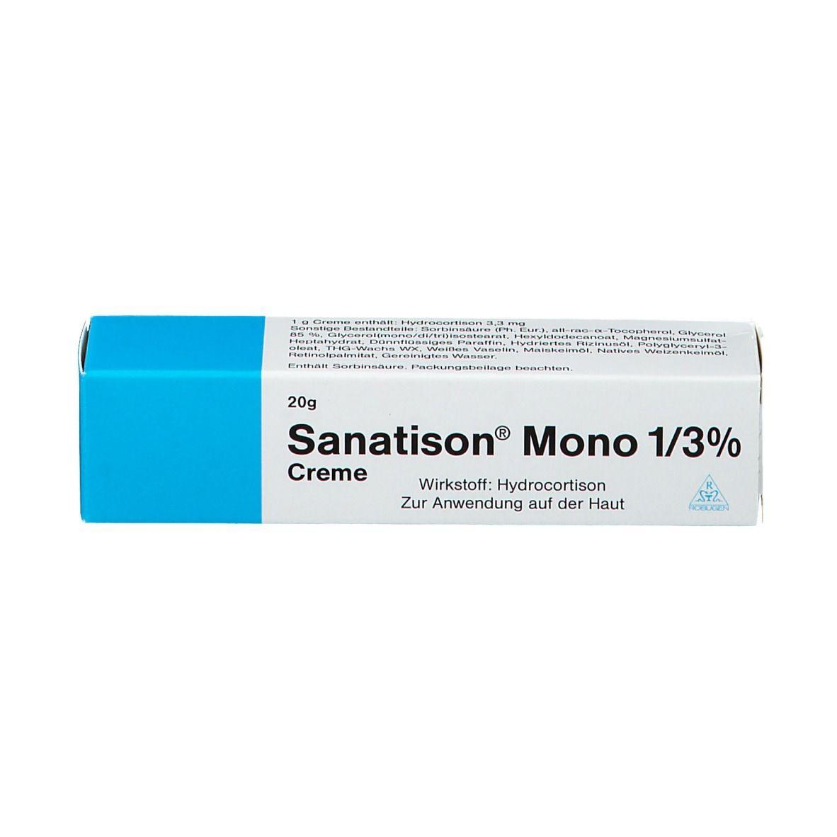 Sanatison mono Salbe 1/3%