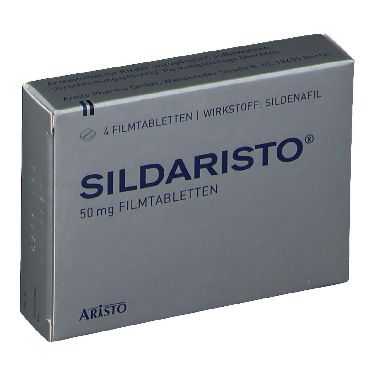 SILDARISTO 50 mg Filmtabletten