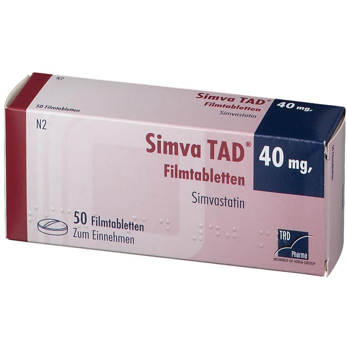 SIMVA TAD 40MG