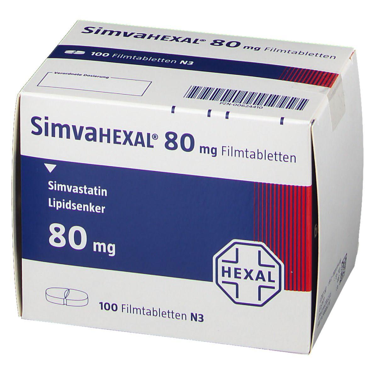 SimvaHEXAL® 80 mg Filmtabletten