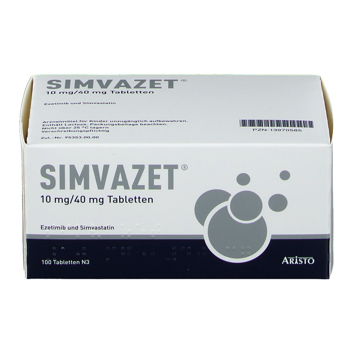 SIMVAZET 10 mg/40 mg Tabletten