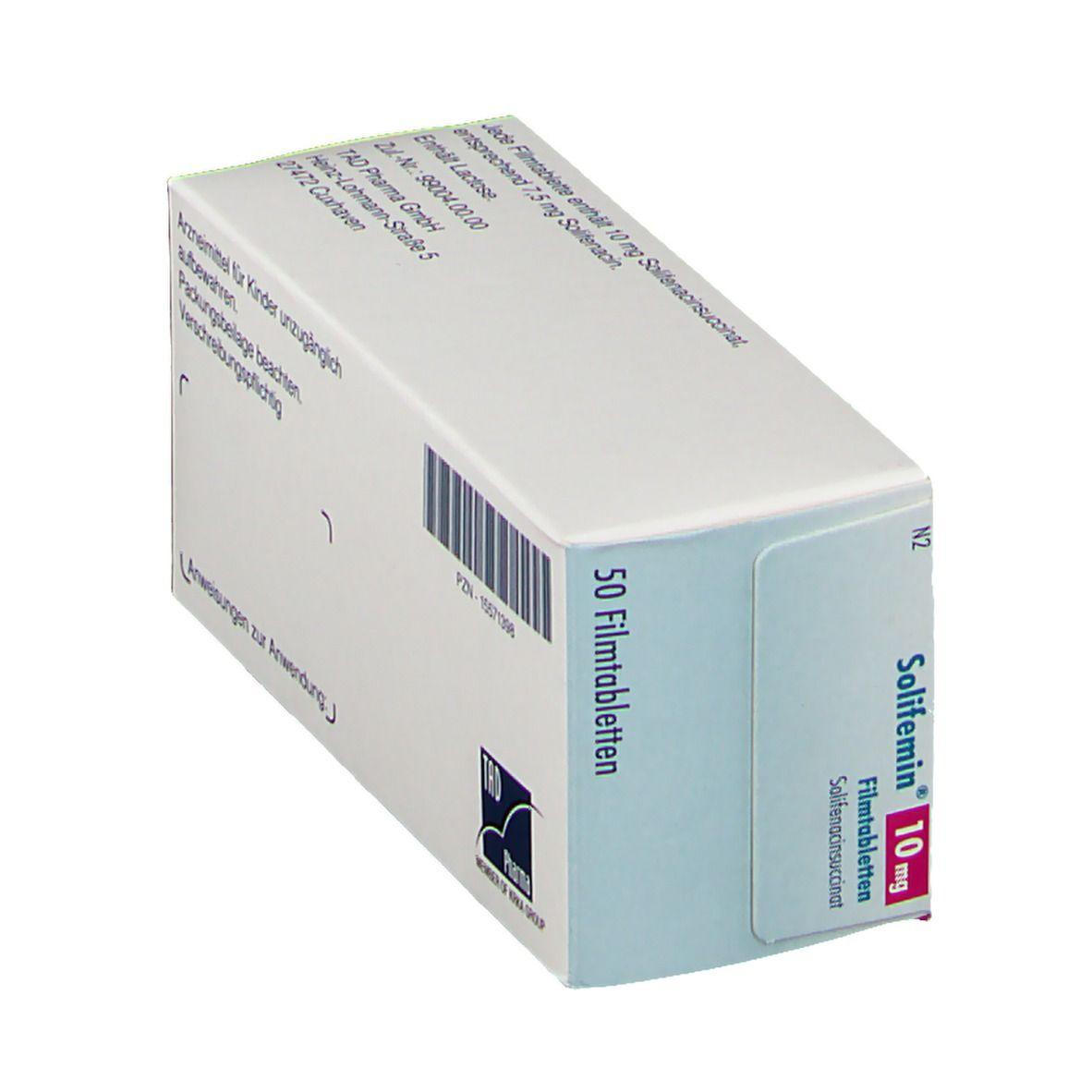 SOLIFEMIN 10 mg Filmtabletten