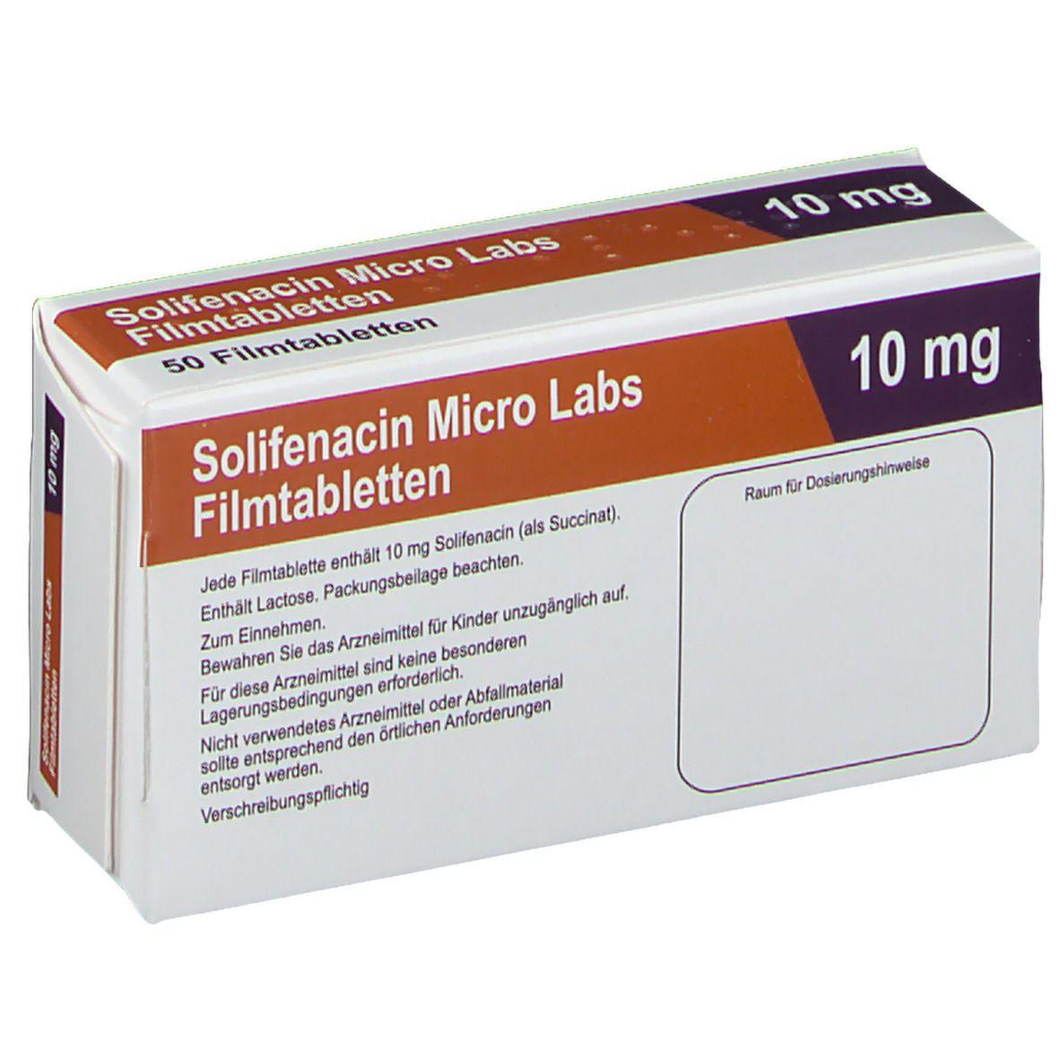 SOLIFENACIN Micro Labs 10 mg Filmtabletten
