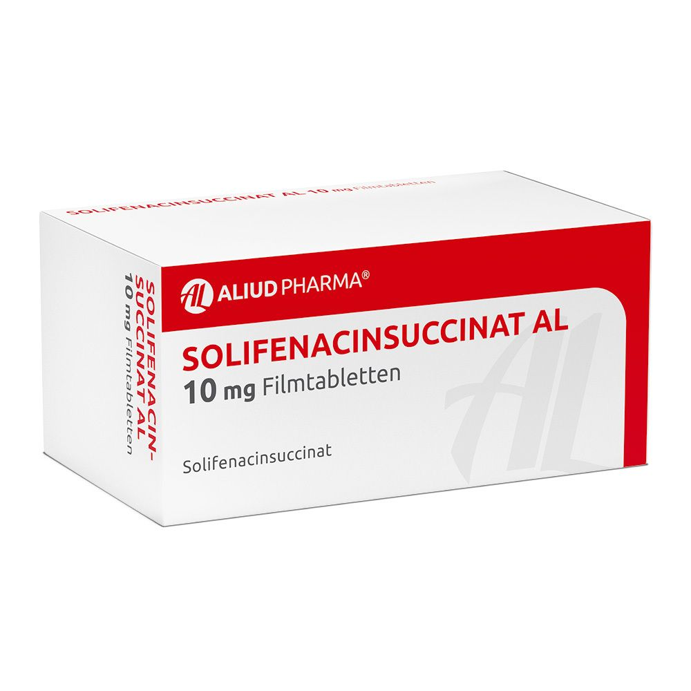 SOLIFENACINSUCCINAT AL 10 mg Filmtabletten