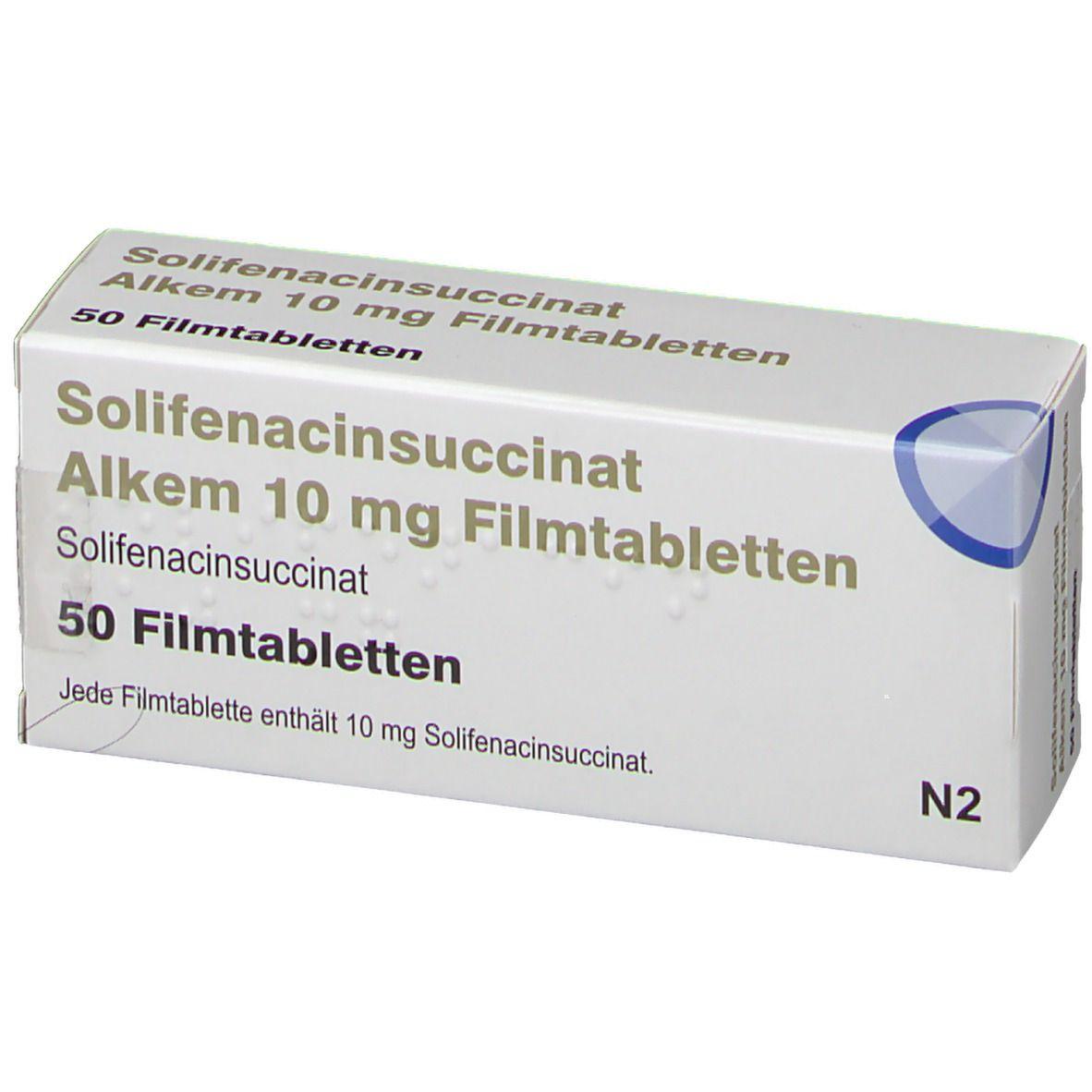 SOLIFENACINSUCCINAT Alkem 10 mg Filmtabletten