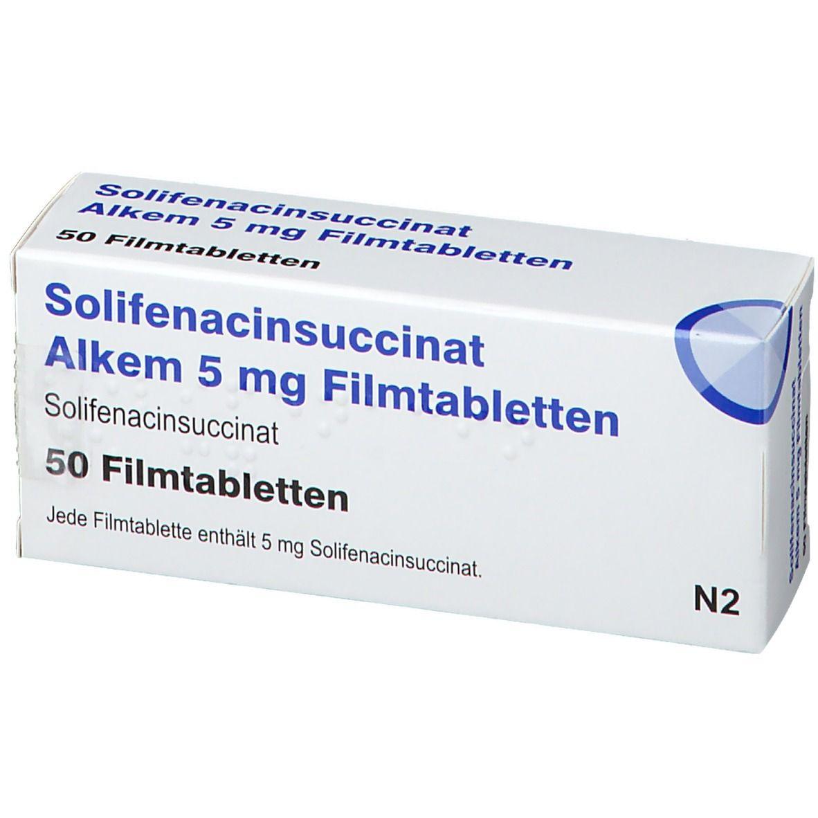 SOLIFENACINSUCCINAT Alkem 5 mg Filmtabletten