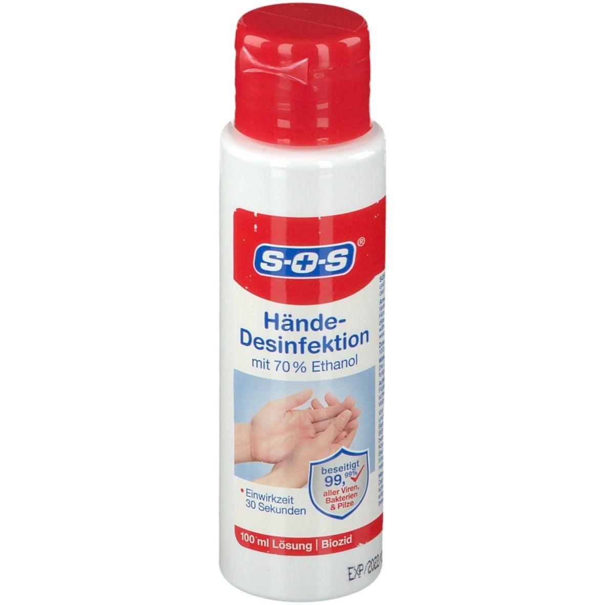 SOS® Hände-Desinfektionslösung