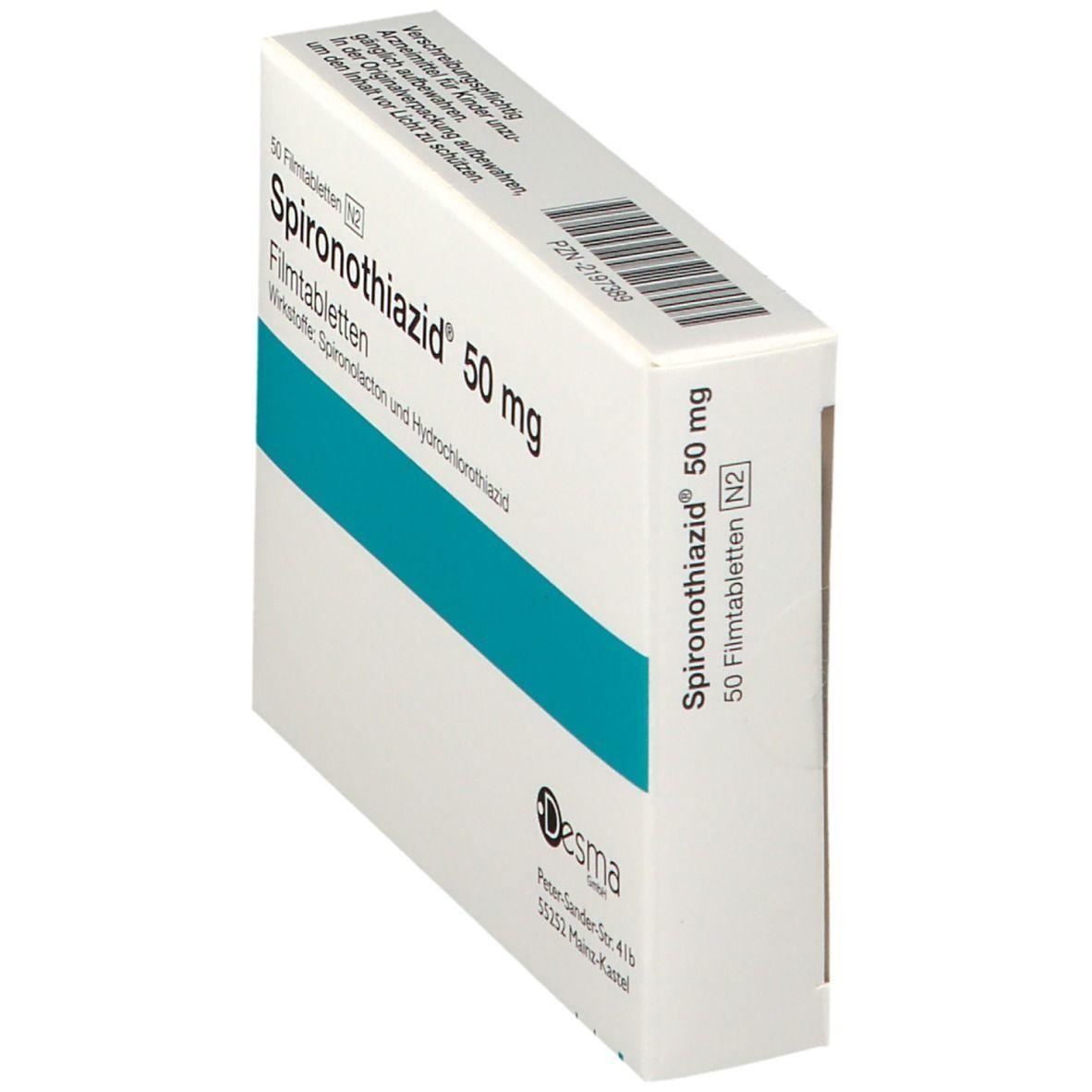 Spironothiazid 50 mg Filmtabl.