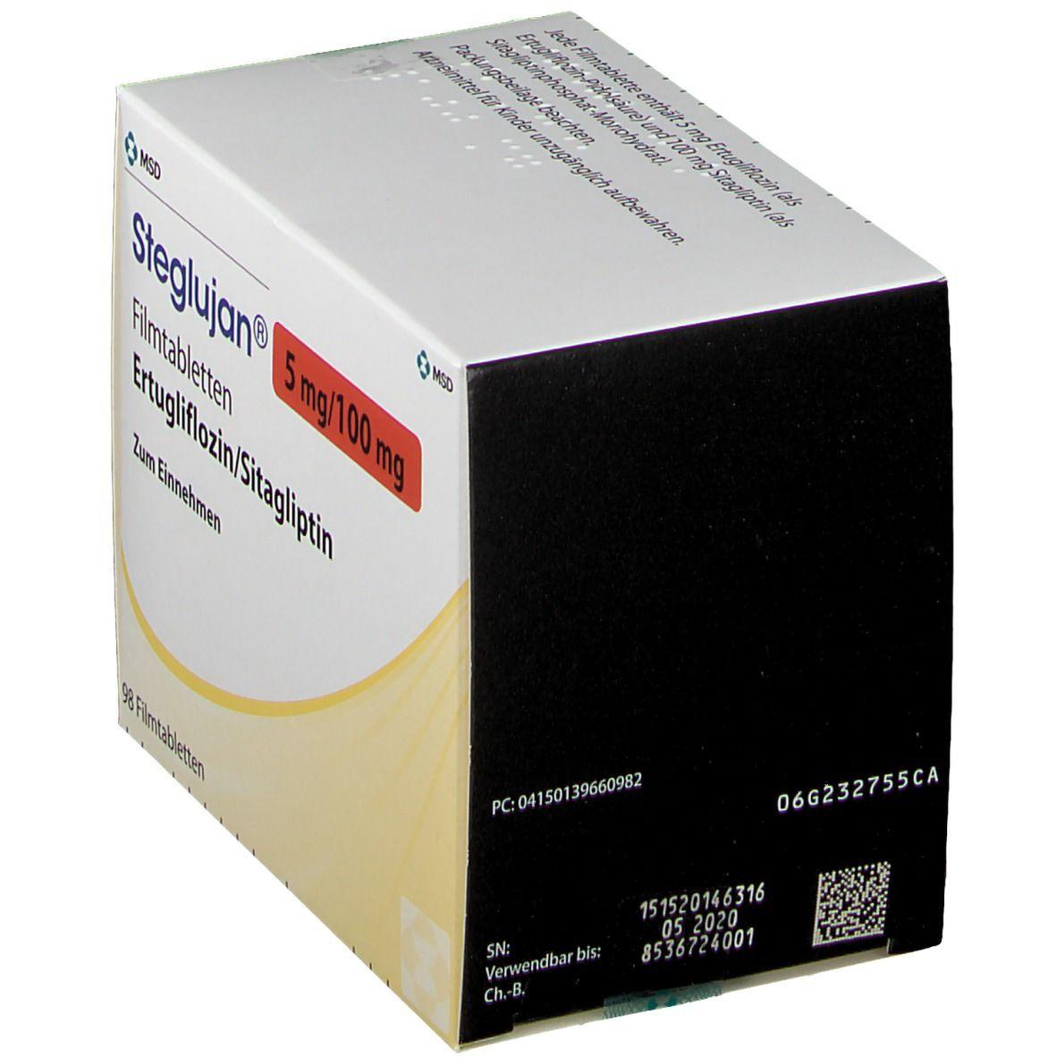 STEGLUJAN 5 mg/100 mg Filmtabletten