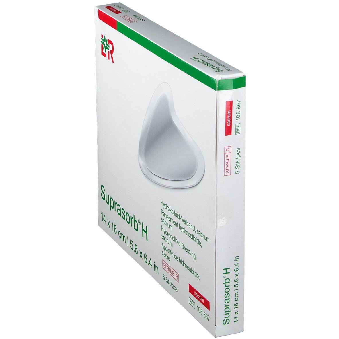 Suprasorb® H Hydrokolloid-Verband Sacrum 14 x 16 cm