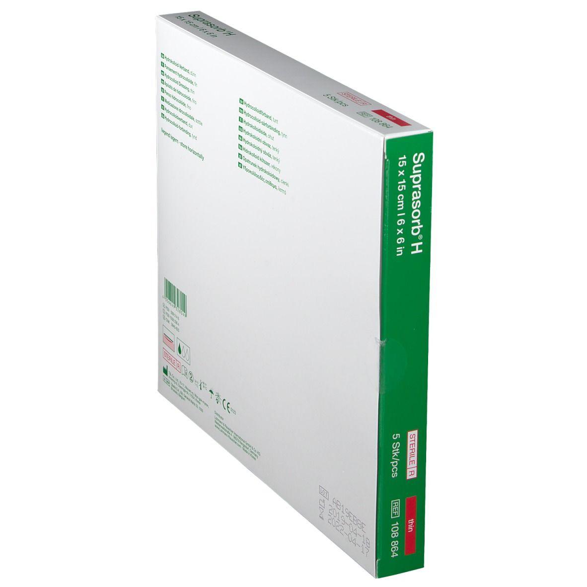 Suprasorb® H Hydrokolloid-Verband Sacrum 15 x 15 cm
