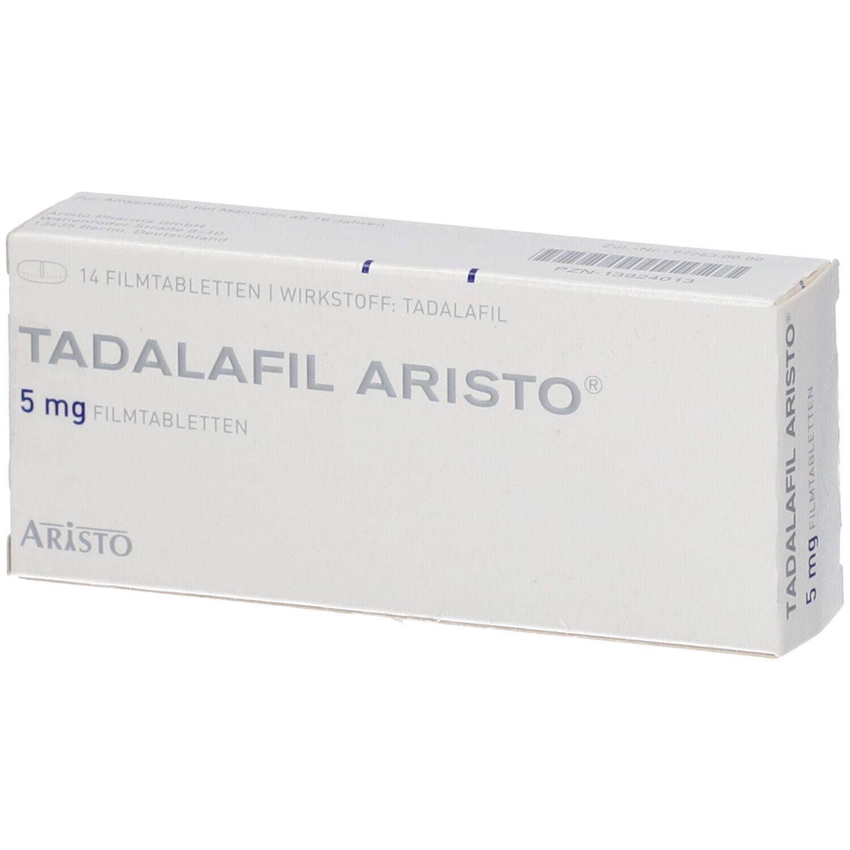 TADALAFIL Aristo 5 mg Filmtabletten