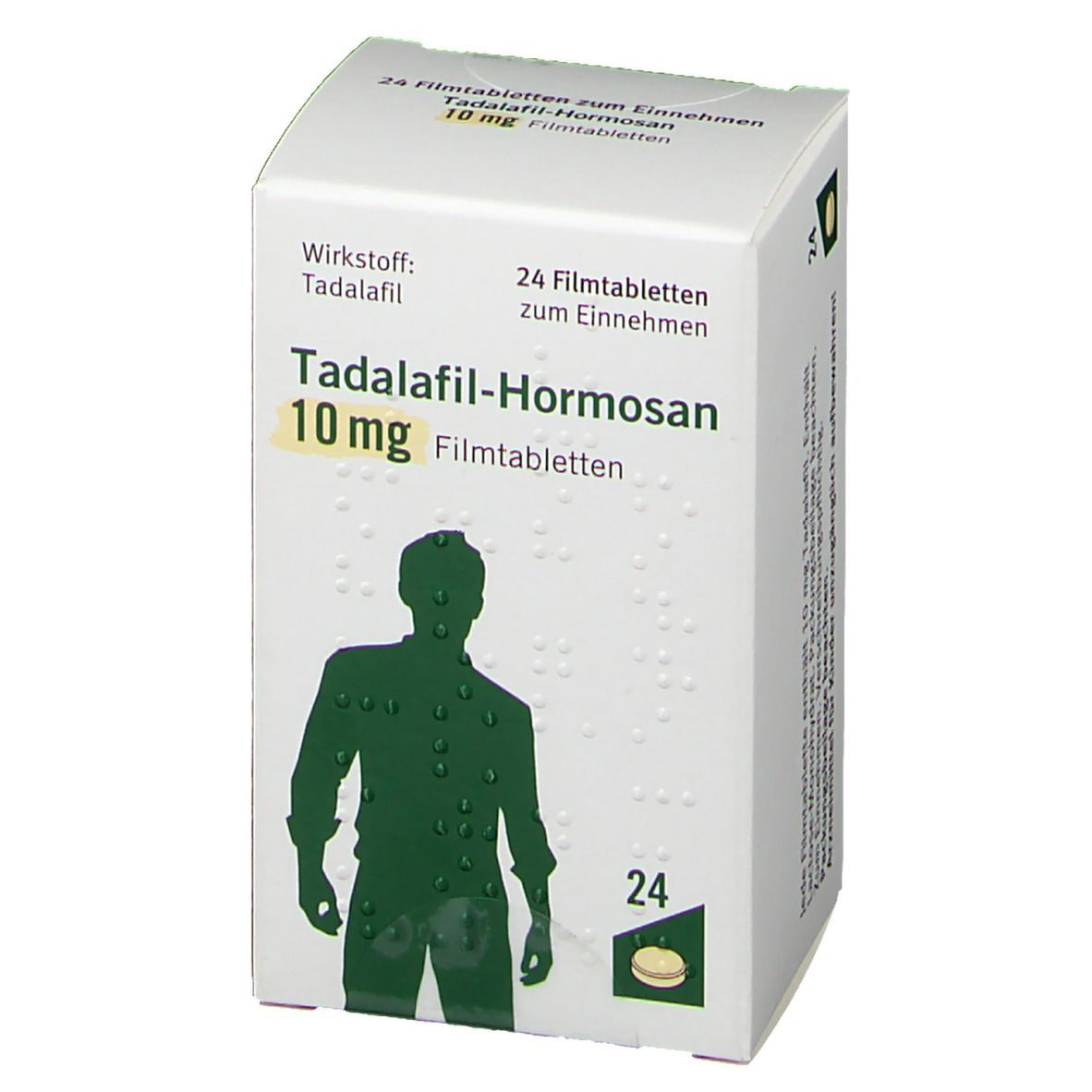 TADALAFIL-Hormosan 10 mg Filmtabletten